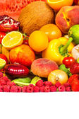 Grupp av färska grönsaker — Stockfoto