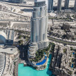Aerial view of Downtown Dubai — Foto Stock #40285329
