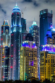 Modern buildings in Dubai — Stock Photo