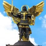 Angel monument — Stock Photo