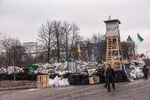 """Protest proti """"diktaturu"""" na ukrajině začne mít násilný charakter — Stock fotografie"""