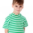 Cute boy smilling isolated — Stock Photo #42568871