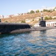 Russian warship in the Bay, Sevastopol, Crimea — Stockfoto