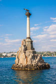 Monument to the Scuttled Warships in Sevastopol — Stock Photo