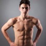 Portrait of young bodybuilder man — Stock Photo #43400795