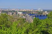 Panorama of Kiev — Foto Stock