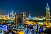 Dubai downtown. East, United Arab Emirates architecture — Foto Stock