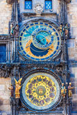 Astronomical Clock. Prague. Czech Republic — Stock Photo