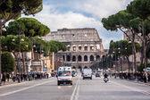 The Iconic, the legendary Coliseum of Rome, Italy — Stock Photo