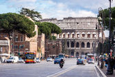 The Iconic, the legendary Coliseum of Rome, Italy — Stock Photo
