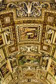 Muzea Watykańskie - galeria map geograficznych — Zdjęcie stockowe