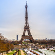 Постер, плакат: Eiffel Tower in Paris France