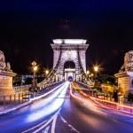 City of Budapest in Hungary night urban scenery — Stock Photo #45777761
