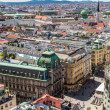 Panorama of Vienna from St. Stephen's Cathedral — Stock Photo #45777791