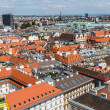 Panorama of Vienna from St. Stephen's Cathedral — Stock Photo #45777797