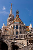 Eurtopa, Hungary, Budapest, Fishermen's Bastion — Stock Photo