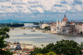 The building of the Parliament in Budapest, Hungary — Stock Photo