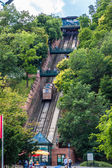Budapest funicular, Hungary — Stock Photo