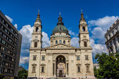 St. Stephen's Basilica, the largest church in Budapest, Hungary — Stock Photo