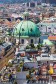从大教堂圣 Stephen 维也纳的全景 — 图库照片