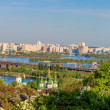 Panorama of the city Kiev, Ukraine — Stock Photo #45795755