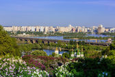 Panorama of the city Kiev, Ukraine — Zdjęcie stockowe