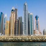 Постер, плакат: Dubai Marina cityscape UAE