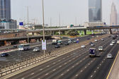 Dubai Sheikh Zayed Road — Stock Photo