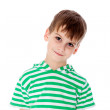 Cute boy smilling isolated — Stock Photo #48910987