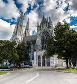 Vienna, Austria - famous Votivkirche — Stock Photo