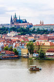 The View on Prague gothic Castle — Stock Photo