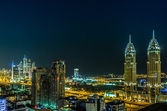 Dubai downtown. — Stock Photo