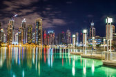 Dubai downtown — Stock Photo