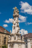 Holy trinity column in Budapest — Stock Photo