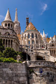 Fishermen's Bastion. — Stock Photo