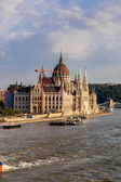 Building of the Parliament in Budapest — Stock Photo