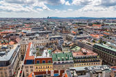 Vienna from St. Stephen's Cathedral — 图库照片