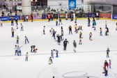 Ice rink of Dubai Mall — Stock Photo