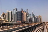 Dubai Marina Metro Station — Stock Photo