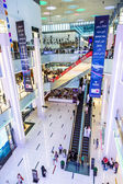 Dubai mall iç görünüm — Stok fotoğraf