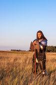 Medieval knight — Stock Photo