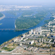 Kyiv city - aerial view. — Stock Photo #12085829