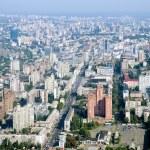 Kyiv city - aerial view. — Stock Photo #12085830