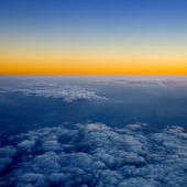 Above the clouds. — Stockfoto