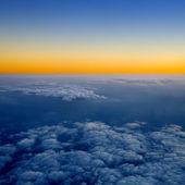 Por encima de las nubes. — Foto de Stock