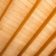 Wooden ceiling background. — Stock Photo