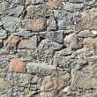 Stone masonry closeup background. — Stock Photo