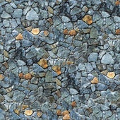 Seamless masonry wall closeup background - texture pattern for c — Stock Photo