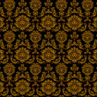 Wektor stockowy : Seamless floral pattern - vector pattern for continuous replicat