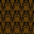Seamless floral pattern - vector pattern for continuous replicat — Stock vektor